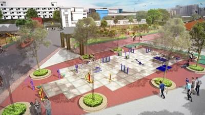 广东汕头·两英矩阵公园景观设计