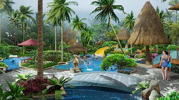 海南三亚·长盛温泉酒店景观设计