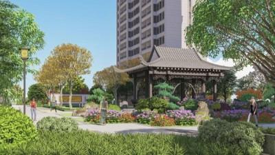 河南洛阳·佳兆业水岸新都居住区景观设计