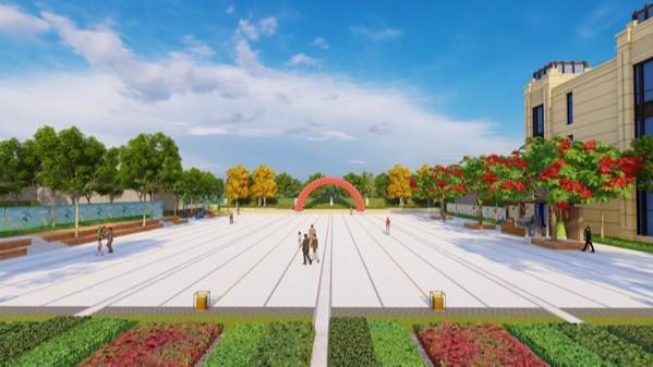 河南洛阳·华耀城商务中心景观设计