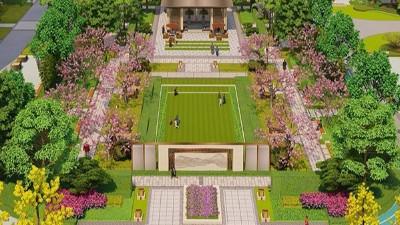 领秀玉坤苑(新亚洲)社区庭园景观设计