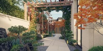 棣志景为您分享别墅庭院景观设计的细节问题
