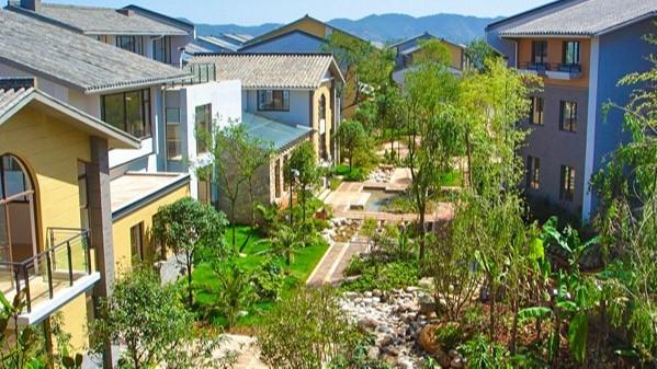 云南昆明·野鸭湖居住区园林景观设计