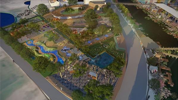 广东汕头·两英公园景观设计