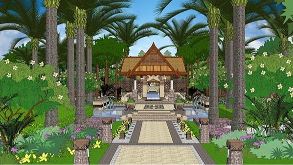 海南海口·美兰高尔夫温泉酒店景观设计