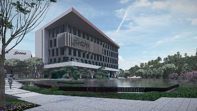 广东东莞·信易集团企业总部景观设计