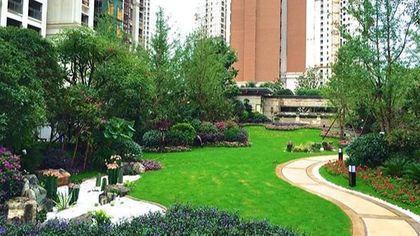 云南昆明·领秀星辰园地产展示区景观设计