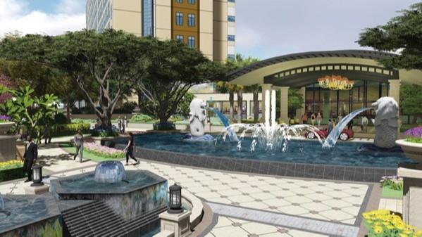 河南汝州·温泉酒店景观设计