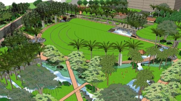 云南陆良·包装厂产业园景观设计