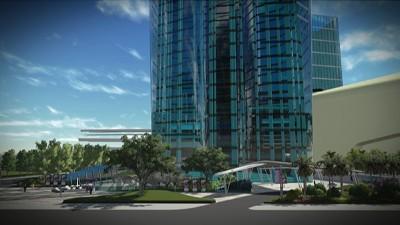 经典双城商业综合体景观设计