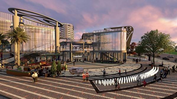 云南富宁·万汇城商住综合体景观设计