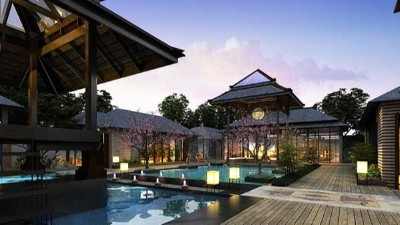 昆明湾度假酒店景观设计