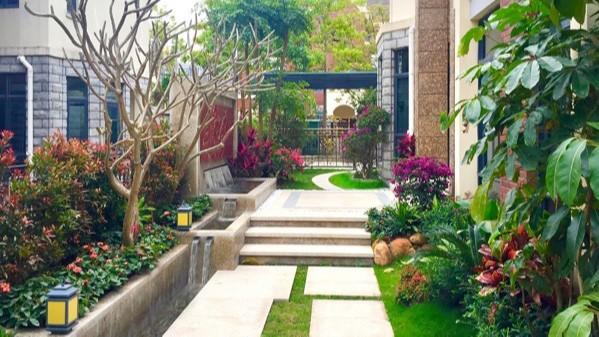 惠州大亚湾碧桂园某别墅庭院景观设计