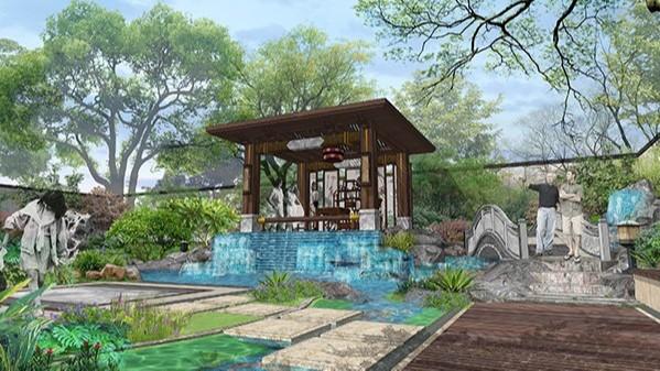 福建泉州·惠安私家别墅庭院景观设计