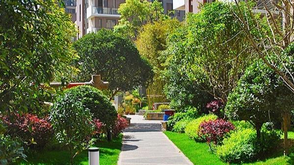 云南昆明·实力上筑居住区景观设计