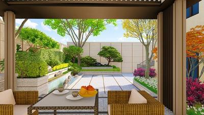 昆明陈府私家庭院景观设计