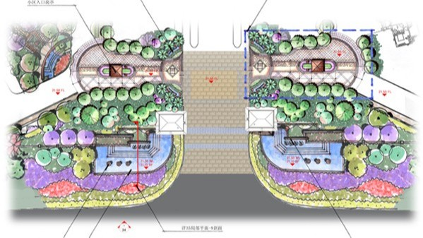 海南海口·美兰高尔夫会馆景观设计