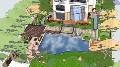 海南海口·美兰高尔夫别墅景观设计