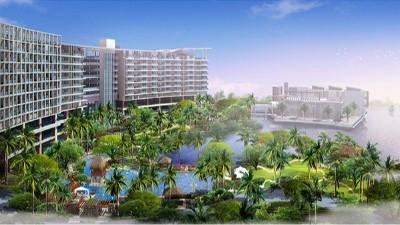 三亚山水国际酒店公寓景观设计