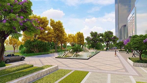 湖南衡阳·华耀城商务中心景观设计