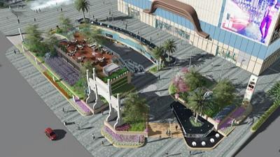 云南昆明·螺蛳湾中心商业综合体景观设计