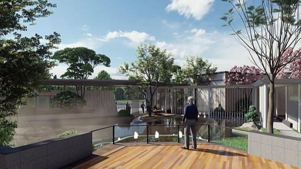 广东惠州·大亚湾某地产展示区景观设计