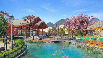广西巴马·西山红色家园公园景观设计