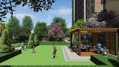 河南汝州·博易温泉养生社区景观设计