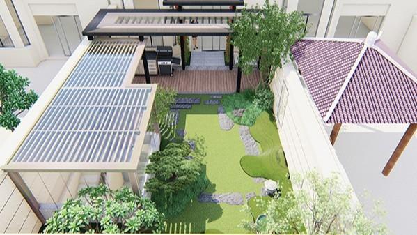 广东深圳·九号公馆私家庭院景观设计