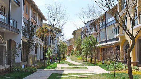 云南昆明·野鸭湖山水假日城居住区景观设计
