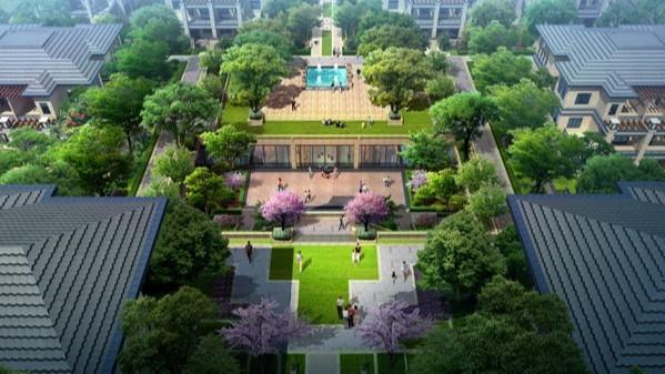 河南郑州·三联凤湖壹号院景观设计