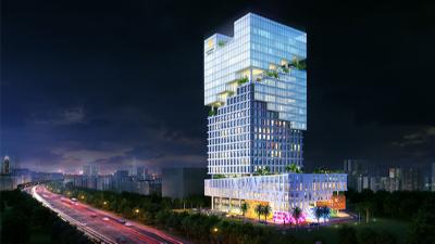 广东深圳·德润企业总部景观设计