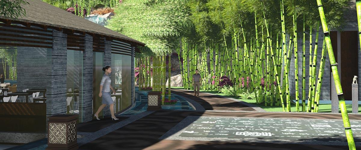景观设计展示图