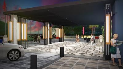 缅甸坎塔亚中心温德姆酒店景观设计