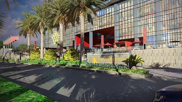 缅甸仰光·坎塔亚中心温德姆酒店景观设计